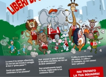 Il manifesto della campagna di adesione